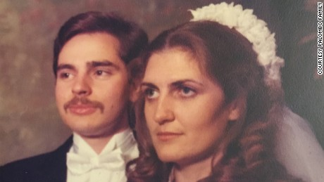 Frank and Jean Palombo wed in 1982. The first of their 10 children was born in 1986.