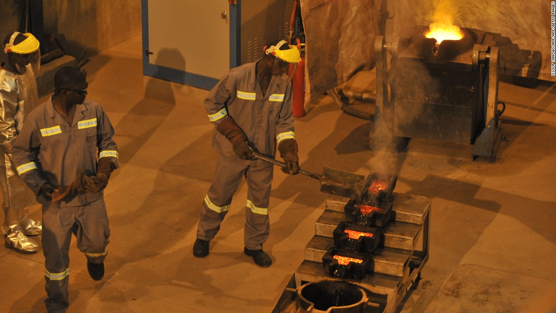 The Tongon mine employs around 2,000 people, according to Randgold, with the vast majority Ivorian. <br /><br />The company is steadily expanding infrastructure at the site as it aims to increase production by 16% this year.
