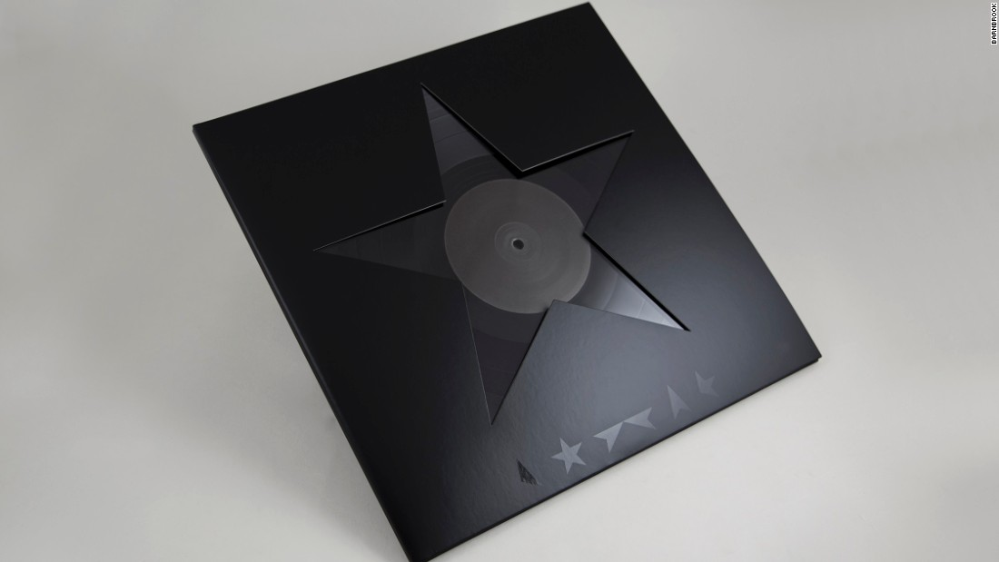 David Bowie's parting gift for his adoring fans was not only beautiful to listen to, but also beautiful to look at. Barnbrook's Unicode Blackstar symbol adorned the album cover and marketing material.