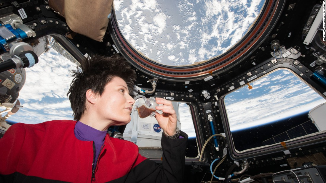 A team at the NASA Johnson Space Center and the IRPI LLC devised the Space Cup, which utilizes capillary forces and surface tension to replicate an earthly drinking experience aboard the International Space Station.