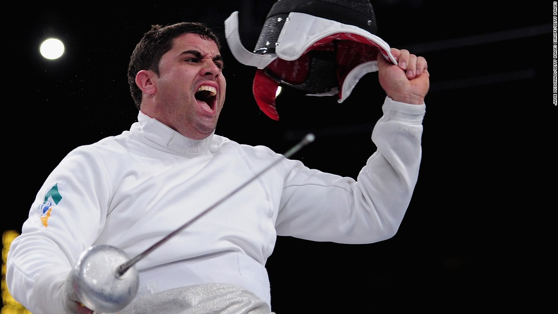 Brazilian Jovane Silva Guissone is the defending Paralympic wheelchair fencing champion and aiming to repeat his success at his home Games. He has said he wants to help Brazil climb the medal table and encourage interest in all sports.