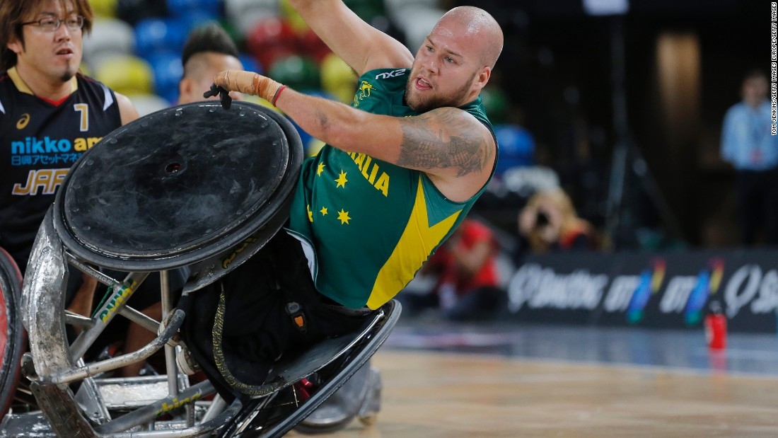 Ryley Batt is only 27 but competing in his fourth Paralympic Games. The wheelchair rugby player, who even opponents say is the best, led Australia to gold at London 2012 and victory at the 2014 world championships.
