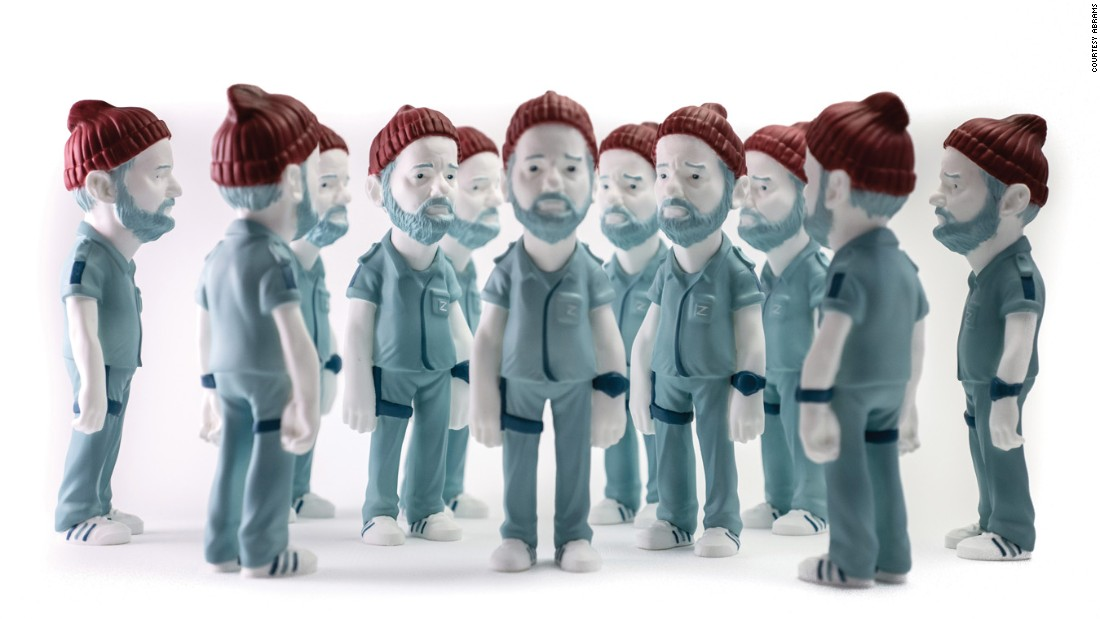 "Many a Steve Zissou from ""The Life Aquatic with Steve Zissou."""