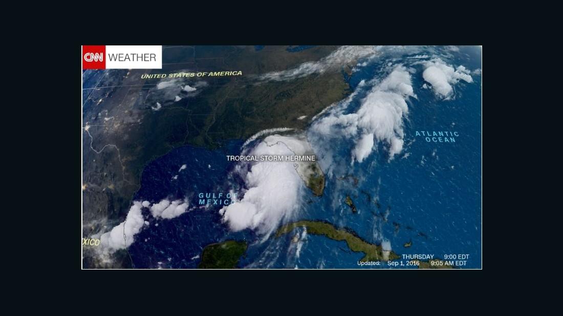 Tropical Storm Hermine brings heavy rain to Carolinas - CNN.com