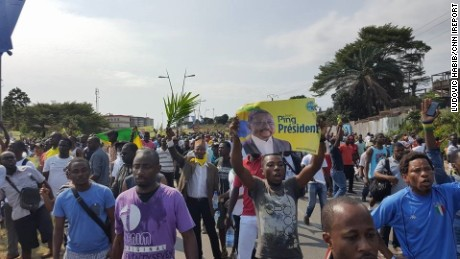 Gabon erupts in post-election violence