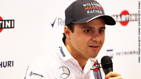F1: Felipe Massa to retire at end of 2016 season