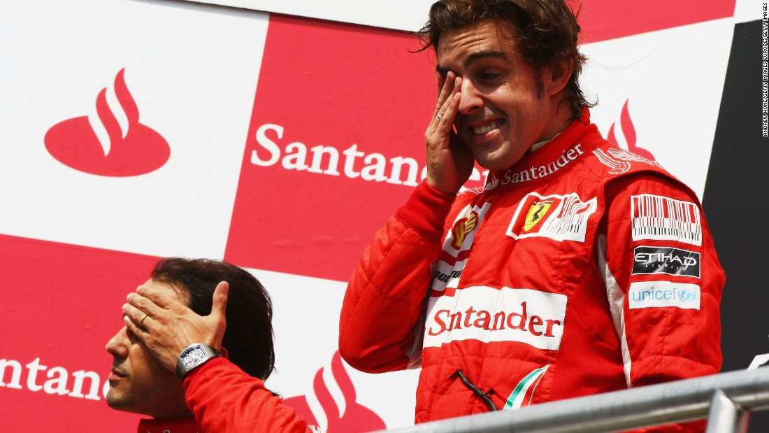 However, as the season developed, Alonso increasingly looked the more consistent performer -- culminating in Massa infamously being forced to move aside for his teammate at the 2010 German Grand Prix.