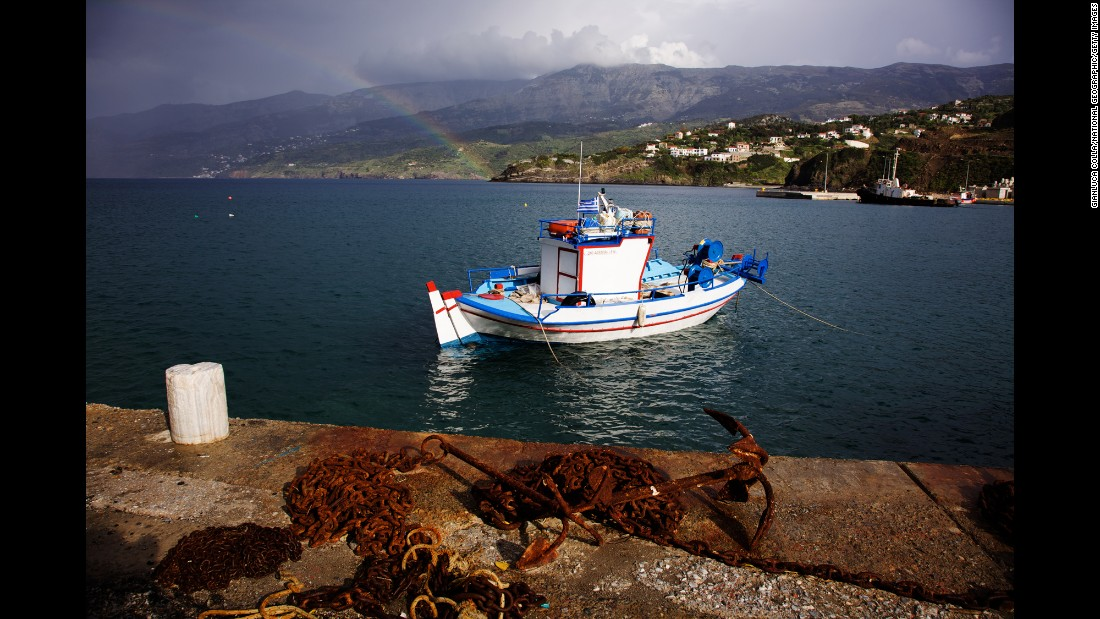 The third Blue Zone is another island community: Ikaria, Greece.