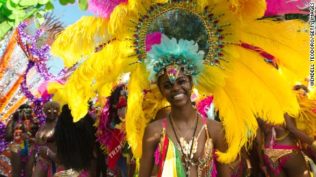 Elaborate costumes are just part of the fun at New York's West Indian American Day Carnival.