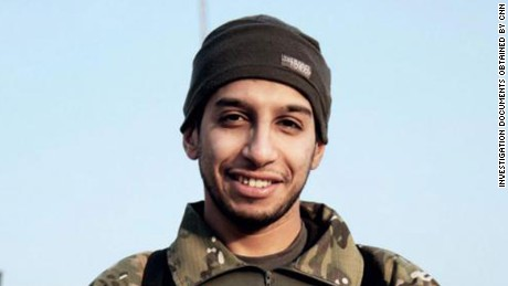 The ringleader of the Paris attacks, Abdelhamid Abaaoud