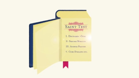 Becoming a saint: Miracles from the afterlife