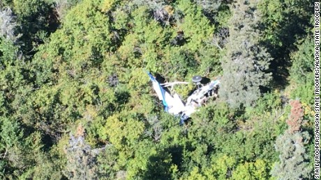 Five people were killed when two small airplanes collided  Wednesday over a remote section of Alaska, the Alaska State Troopers reported.