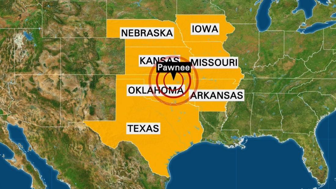 Oklahoma earthquake rattles six surrounding states - CNN