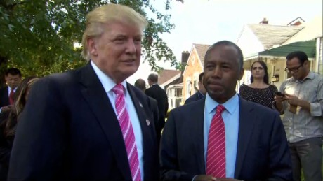 Aide: Carson declined cabinet position offer from Trump
