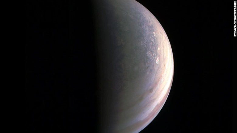 Never before seen photos of Jupiter