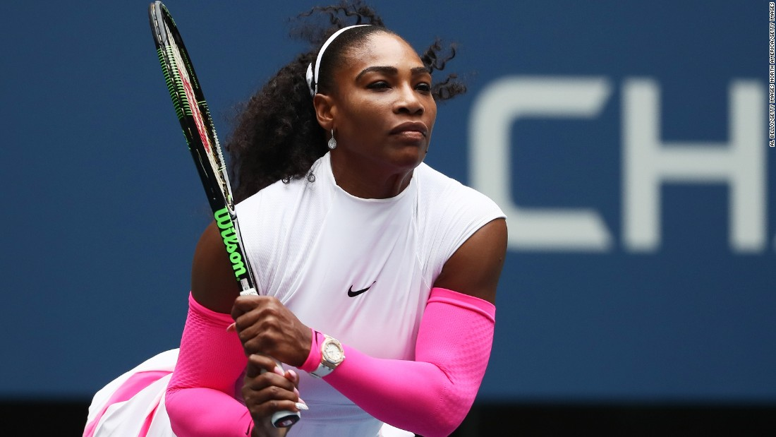 Williams outclassed and outgunned her opponent with a powerful display of shot-making.