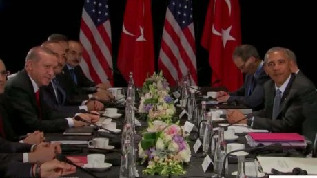 Obama meets Erdogan, promises cooperation