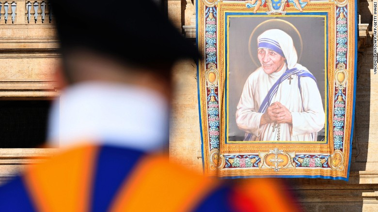 Mother Teresa is now Saint Teresa
