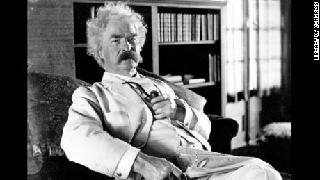 "Northerner Mark Twain was known for his white suits, and probably didn't care at all about the ""White after Labor Day"" rule."