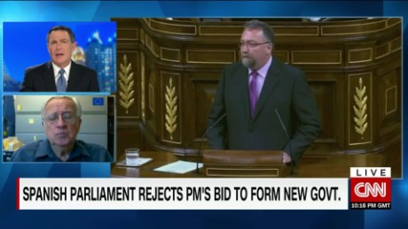 exp Spanish Parliament Rejects PM's Bid for New Government_00023210.jpg