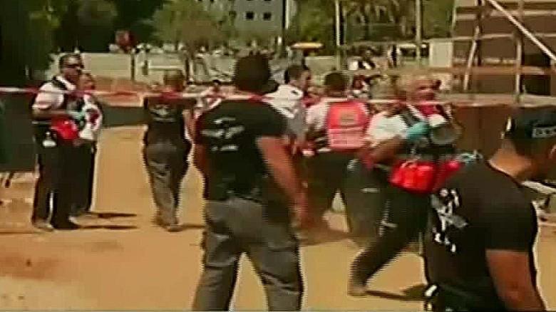 Several missing after Tel Aviv garage collapse