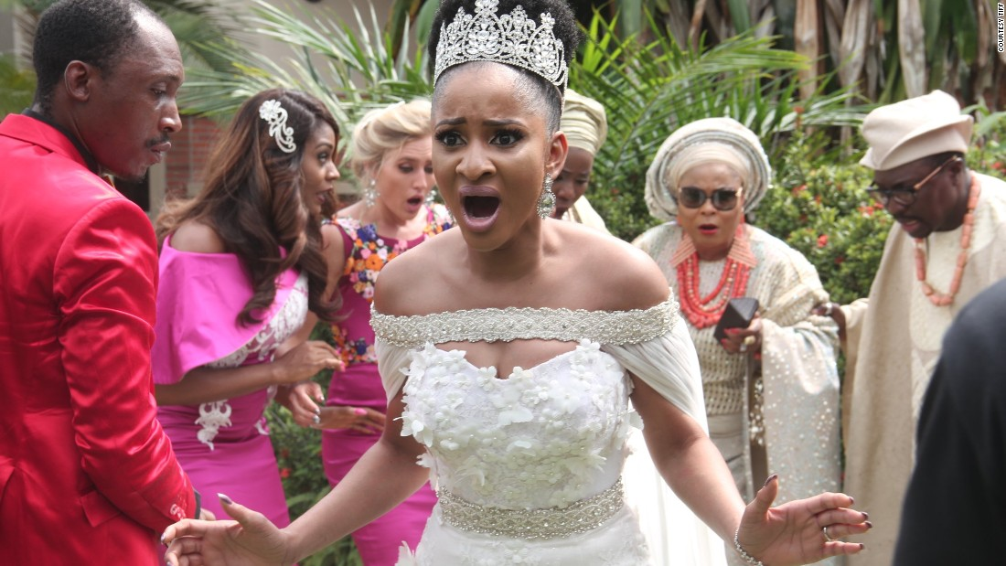 """A lavish wedding nearly turns into a nightmare after the arrival of uninvited guests in this film produced by <a href=""""http://edition.cnn.com/videos/business/2015/10/22/nigerian-entrepreneurs-nollywood-mo-abudu-orig.cnn"""">Mo Abudu,</a> the CEO of Ebony Life."""