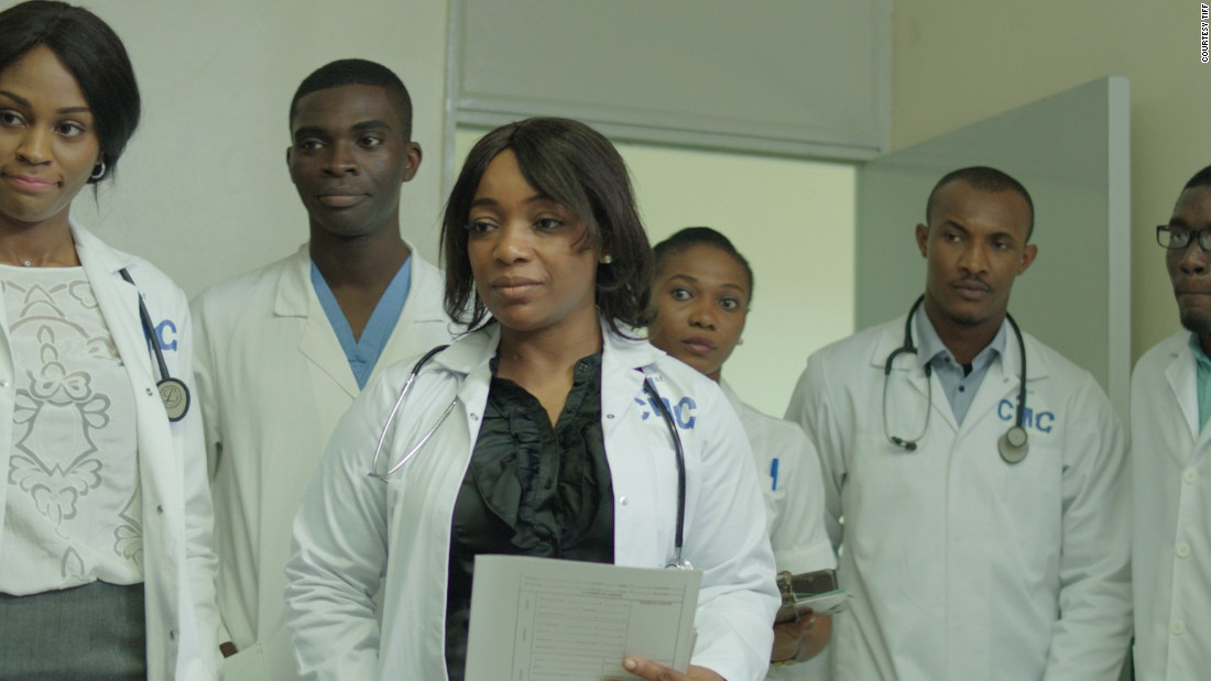 Real-life headlines are played out in this thriller as courageous health-care workers in Lagos battle the Ebola outbreak of 2014. Akintola plays the part of the late Dr. Ameyo Adadevoh, who put her life on the line to detain an infected man.