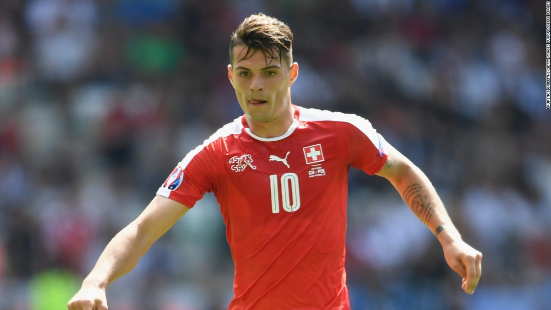 Swiss holding midfielder Xhaka arrived from Borussia Mönchengladbach for the second-highest transfer fee in Arsenal history, £38.25 million. He was slated to be the long-term solution to the position which has been an enigma at the club since Patrick Vieira left in 2005. Xhaka struggled for much of 2016-2017, committing sloppy fouls resulting in 12 yellow cards and two red cards, before showing promise late in the season.