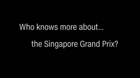 Renault F1 drivers take on Singapore GP quiz