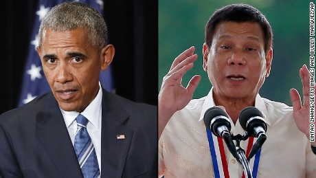 Duterte's tongue the least of Obama's Philippine problem