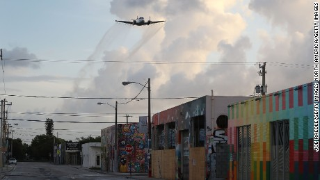 Zika aerial spraying in Miami completed despite health concerns