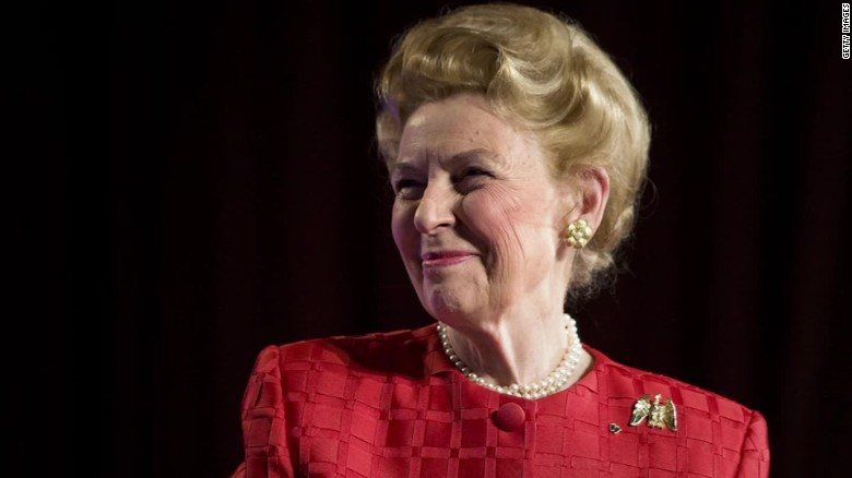 Conservative icon Phyllis Schlafly dies