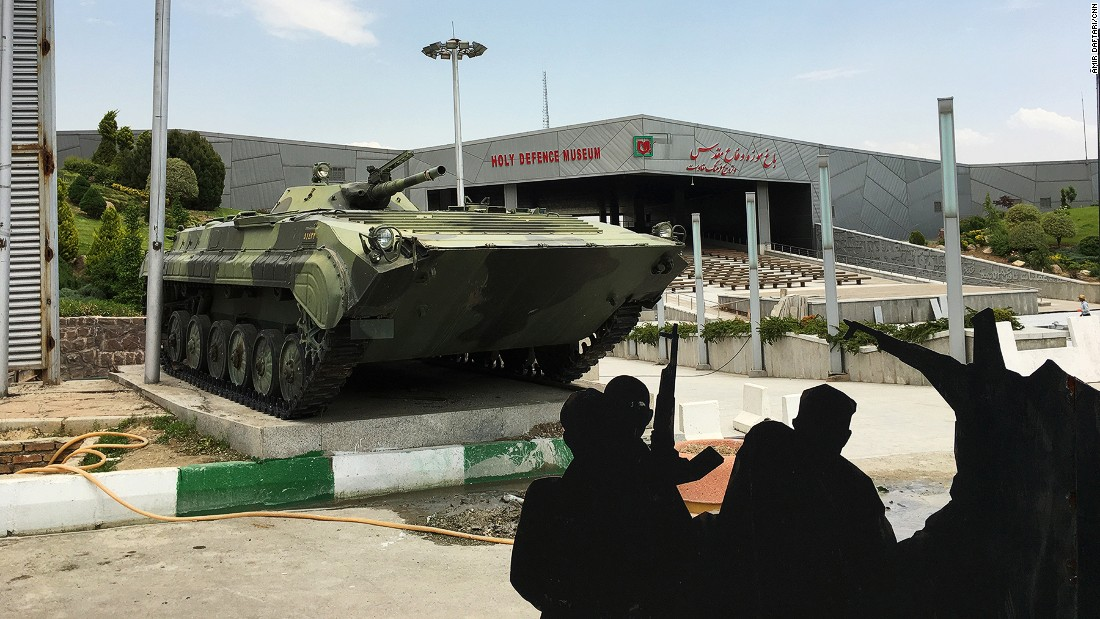 "Tehran's Holy Defense Museum is a 21-hectare complex focused on the Iran-Iraq War of 1980 to 1988 -- the conflict known in Iran as the ""Holy Defense."""