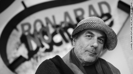 British industrial designer and architect Ron Arad