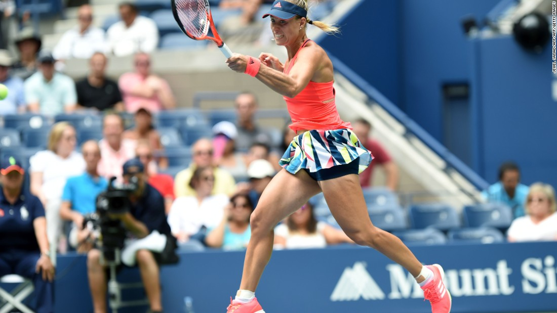 Kerber didn't relinquish another game as she stepped up her game and Vinci faded.