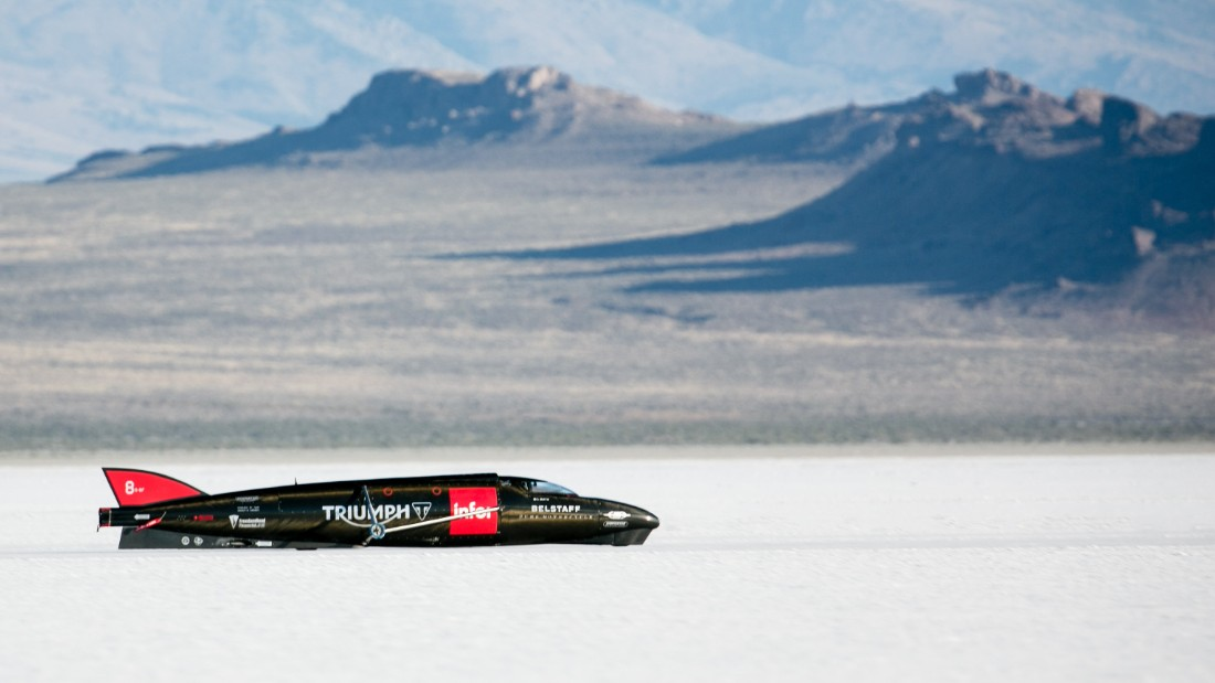 Triumph's record attempt is scheduled to take place in mid-September.