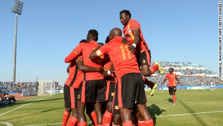 Uganda's soccer 'immortals' qualify for Africa Cup of Nations