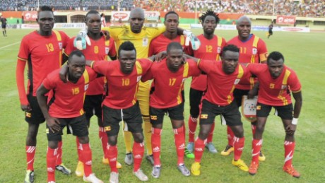 Uganda's soccer stars on brink of becoming 'immortal'