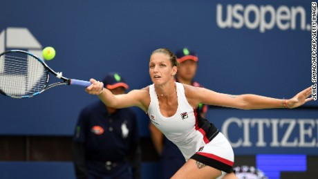 Pliskova played aggressive tennis to overcome Venus Williams in the fourth round.
