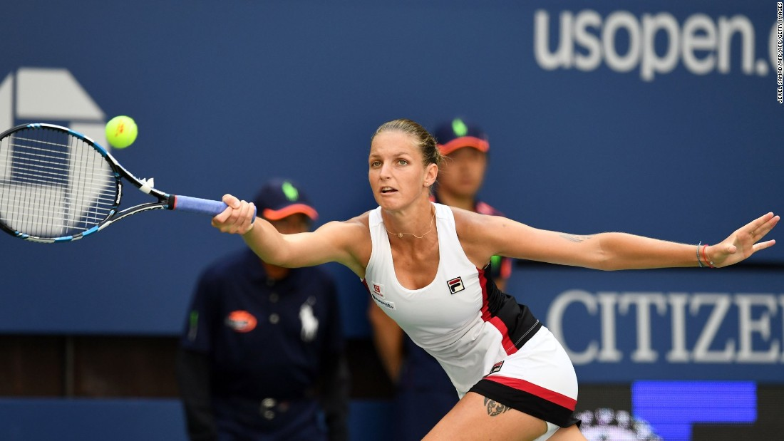 Pliskova crushed Ana Konjuh 6-2 6-2 and has now won 10 straight matches.