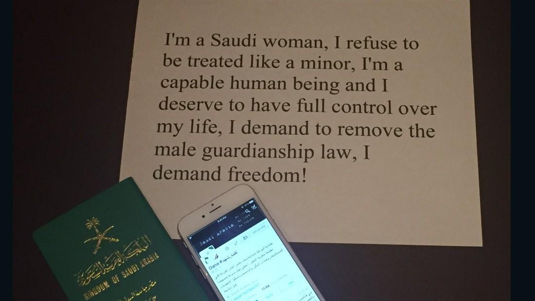 saudi arabia guardianship campaign twitter