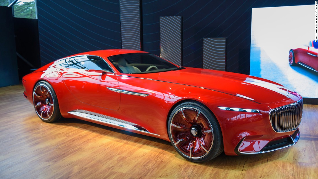 Concept cars have become a big part of Pebble Beach, and this year Mercedes-Benz stole the show with its eye-popping Mercedes-Maybach Vision 6, a 2+2 coupe that could well represent the future of sports cars.