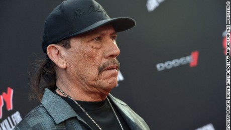 "HOLLYWOOD, CA - AUGUST 19:  Actor Danny Trejo attends ""SIN CITY: A DAME TO KILL FOR"" premiere presented by Dimension Films in partnership with Time Warner Cable, Dodge and DeLeon Tequila at TCL Chinese Theatre on August 19, 2014 in Hollywood, California.  (Photo by Charley Gallay/Getty Images for The Weinstein Company)"