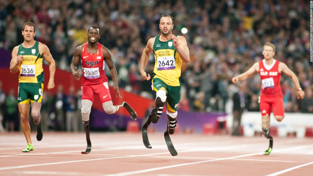 He finished behind Brazilian Alan Oliviera and South African Oscar Pistorius.