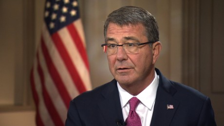 Ash Carter: Russia must 'use its influence' in Syria