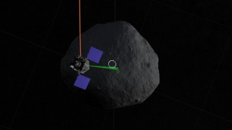 OSIRIS-REx, asteroid hunter