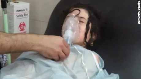 Chlorine gas attacks continue in Aleppo