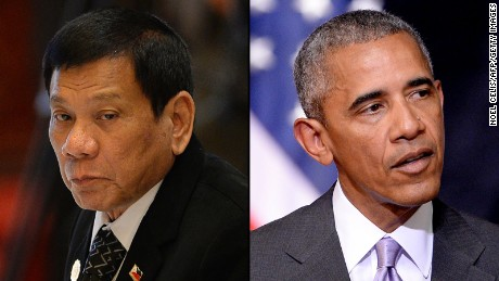 Duterte tells Obama to 'go to hell'