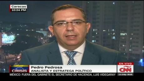 cnnee conclusiones intvw pedro pedrosa marchas venezuela _00003418