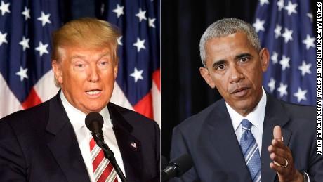 Image result for Trump obama